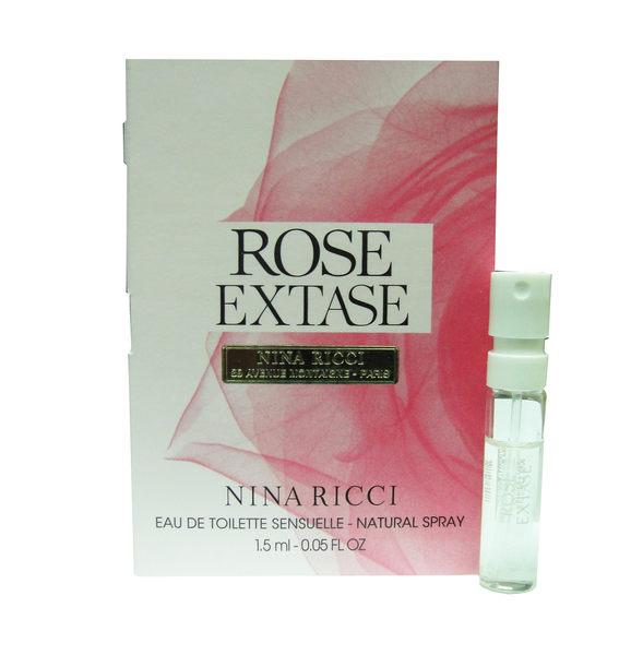 岡山戀香水~Nina Ricci rose extase 魅惑薔薇 女性淡香水1.5ml~優惠價:60元