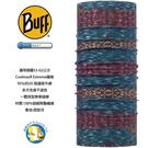 [西班牙製 BUFF] Coolmax 謎城魅影 防曬透氣 頭巾;BF117019-710;蝴蝶魚戶外