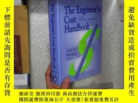 二手書博民逛書店THE罕見ENGINEER S COST HANDBOOK 工程