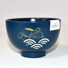 Snoopy 史努比 和風湯碗 茶碗 藍色波浪 日本製正版