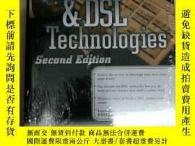 二手書博民逛書店ADSL罕見and DSL Technologies ADSL和