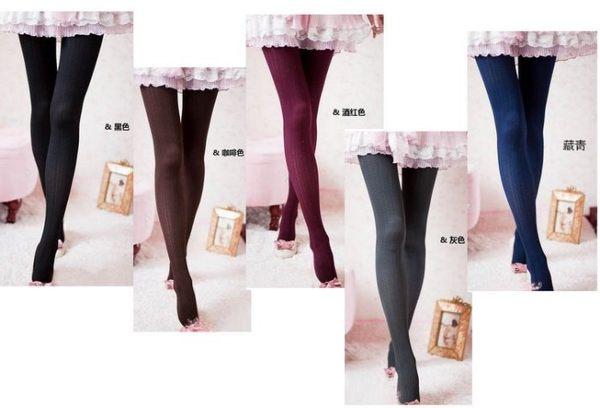得來福褲襪,H568褲襪秋冬日系百搭顯瘦天鵝絨大麥穗美腿褲襪,售價190元