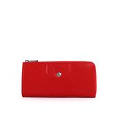 【LONGCHAMP】小羊皮L型長夾(紅色) 3418737045