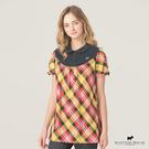 假兩件式造型襯衫Scottish House【AE1308】