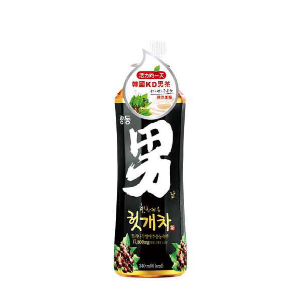 【韓國KD】男茶(枳椇子茶飲)340ml