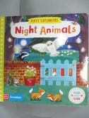 【書寶二手書T4/少年童書_ICR】First Explorers: Night Animals_Jenny Wren