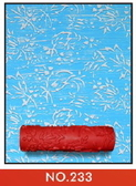 DIY雕花滾輪刷, 滾筒圖案任選, 壁面裝飾印花滾筒刷 油漆刷 - 單購滾筒