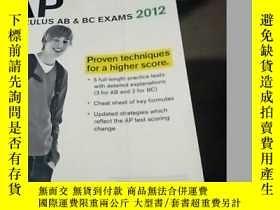二手書博民逛書店Cracking罕見the AP Calculus AB & B