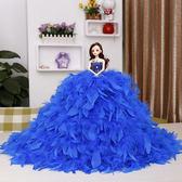 芭比娃娃芭比婚紗娃娃套裝大禮盒芭比仿真女孩洋娃娃兒童公主玩具生日新年禮物