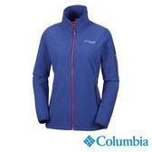 Columbia 女 鈦PL200刷毛外套-靛藍色 【GO WILD】