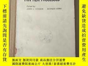 二手書博民逛書店thin罕見film processes(P3611)Y173412