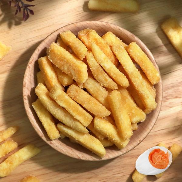 鹹蛋黃脆薯條 【菓青市集】