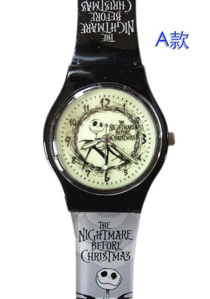 【卡漫城】 Jack 夜光 兒童錶 ㊣版 聖誕夜驚魂 傑克 男錶 女錶 螢光 卡通錶 手錶 膠錶