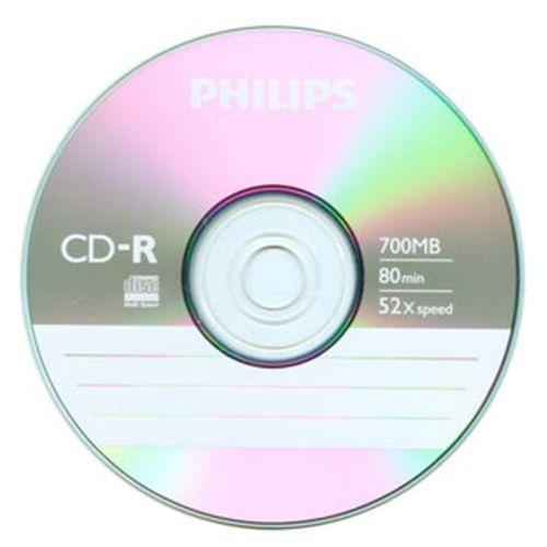 PHILIPS 飛利浦 52X CD-R燒錄片 50入熱縮膜裝