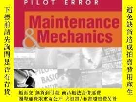 二手書博民逛書店Controlling罕見Pilot Error: Maintenance & MechanicsY30775