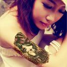花臂紋身貼紙  ZW020  小魔女 日韓系水轉印紋身貼紙 想購了超級小物