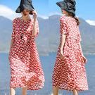 洋裝-100支紅點苧麻/設計家 SQ404