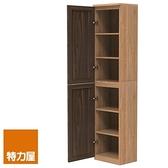 組 -特力屋萊特 組合式書櫃 淺木櫃/淺木層板4入/深木門2入 40x30x174.2cm