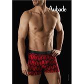 Aubade man-壞男人M-XL舒棉平口褲(巴黎鐵塔)