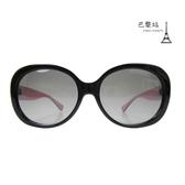 【巴黎站二手名牌專賣店】*現貨*COACH 真品*C字黑框 內粉色太陽眼鏡墨鏡