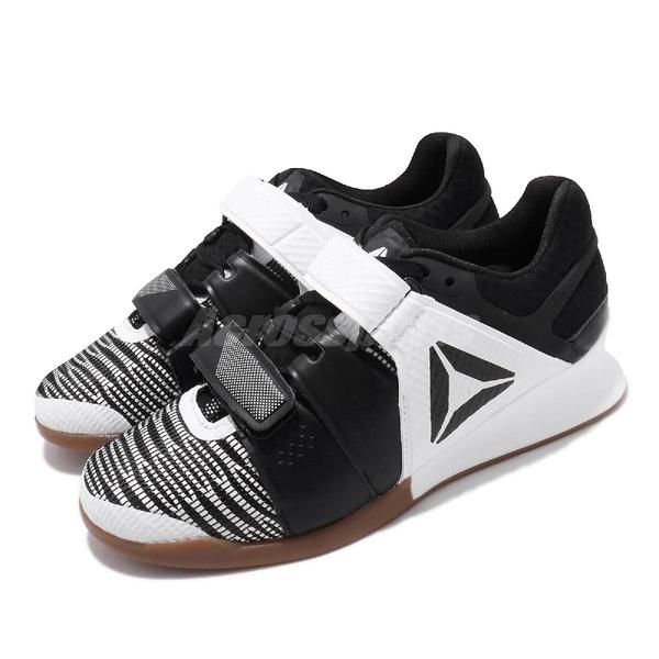 Reebok 訓練鞋 Legacylifter FW 白 黑 女鞋 舉重鞋 膠底 運動鞋 CrossFIT 健身專用 【PUMP306】 FU7877