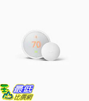 [8美國直購] Nest Thermostat E and Nest Temperature Sensor Bundle