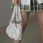 側背包 云朵包包女2020春夏新款褶皺包OL通勤百搭腋下包軟面側背包手提包 愛麗絲