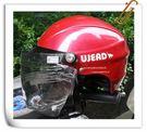 林森●GRS半罩安全帽,半頂式,瓜皮帽,雪帽,附耐磨鏡片,077,桃紅