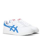 ASICS JAPAN S男款白色藍線條復古皮革休閒鞋-NO.1191A163-103