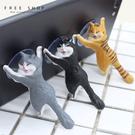Free Shop 吸盤貓咪手機支架 超...