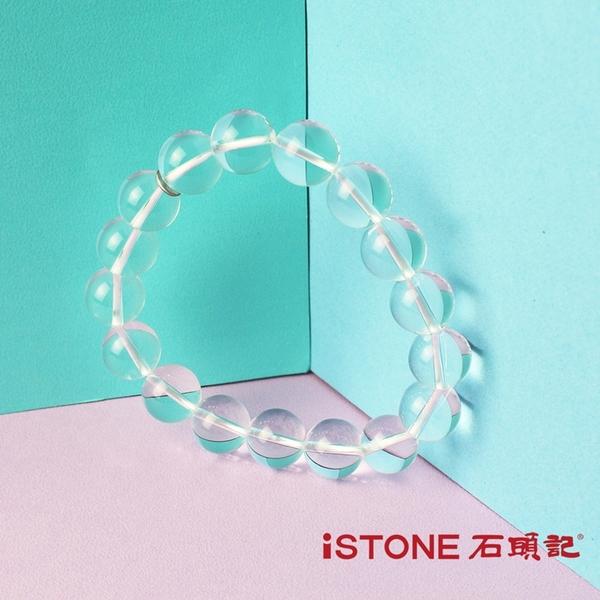 白水晶手鍊-品牌經典-12mm 石頭記