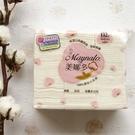 【美娜多】 100%原色化妝棉 天然有機棉 8x6cm/132枚(3包)