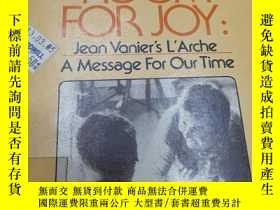 二手書博民逛書店enough罕見room for joy:jean vanier