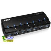 [104美國直購]Anker AH121 USB 3.0 7-Port Hub with 36W Power Adapter 68UNHUB-B7U七孔 集線器/充電器/cable線$1790