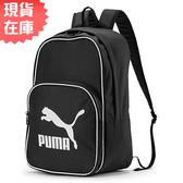 【現貨】PUMA ORIGINALS 背包 後背包 休閒 潮流 黑【運動世界】07665201