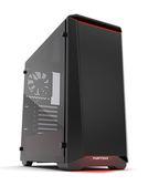 Phanteks 追風者 Eclipse P400 PH-EC416PTG_BR鋼化玻璃黑/紅機殼