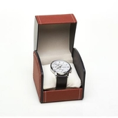 手錶盒 高檔皮質手錶收納盒飾品首飾展示盒男女機械錶盒包裝盒【限時八五折】