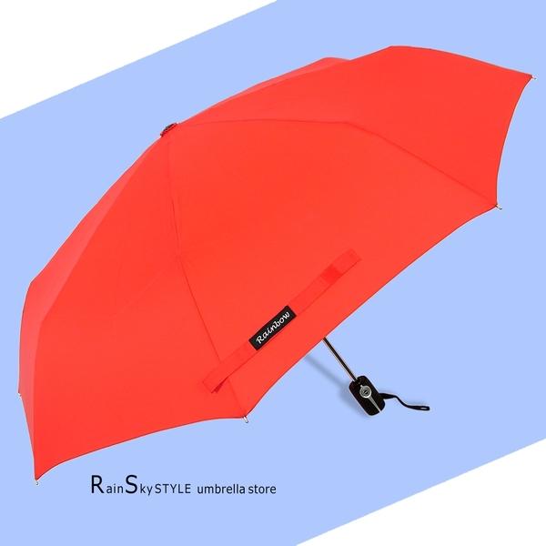 【RainSky】Classic經典自動傘-41吋大傘面 / 傘 雨傘 洋傘 折疊傘 遮陽傘 大傘 抗UV傘 防風 撥水+5