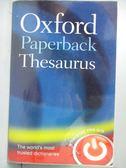 【書寶二手書T1/字典_OUB】Oxford Paperback Thesaurus_Oxford Dictionaries (COR)