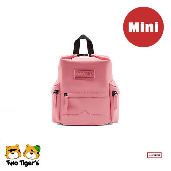 Hunter Original Rubberised 粉紅色 防水後背包【Mini】NO.H1669
