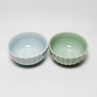 蓮花碗 含天然原礦釉