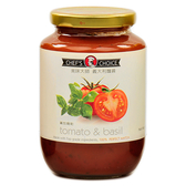 美味大師義大利麵醬-蕃茄羅勒470G/瓶【愛買】