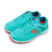 LIKA夢 LOTTO 雙密度超輕量訓練跑鞋 Sprite 水藍橘 3576 女