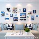 壁畫 北歐風格墻體墻面家裝飾品創意客廳房間背景墻壁掛件走  莫妮卡小屋 IGO