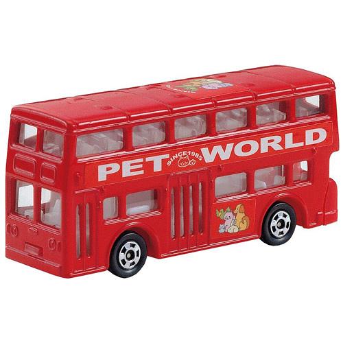 TOMICA 多美小汽車NO.095 倫敦雙層巴士_TM095A