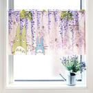 TOTORO 龍貓紫藤花 窗簾 裝飾 日本製正版 宮崎駿