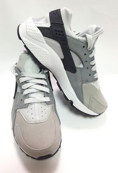 女款NIKE AIR Huarache Run PRM 武士鞋《7+1童鞋》D829銀灰色