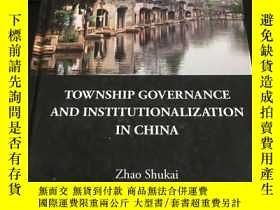 二手書博民逛書店township罕見governance and institu