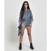 OneTeaspoon 童裝 牛仔短褲- ROLLERS KIDS DENIM SHORT-藍(女)