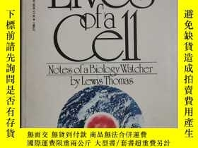 二手書博民逛書店The罕見Lives of a Cell【英文原版 小32開 1975年印刷】Y18208 Lewis Tho